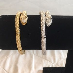 NWOT 2 Snake 🐍 Adjustable Bracelets